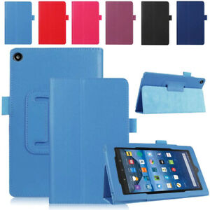 Flip Foldable Magnetic Smart Stand Case for Amazon Kindle Fire HD 7 8 10 inch