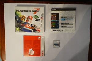 MarioKart 7 Mario Kart Nintendo 3ds spiel ds box case genuine 2ds original clean