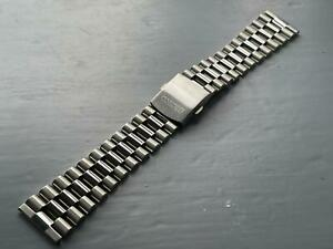 NEW 22MM STAINLESS STEEL STRAIGHT ENDS GENTS WATCH STRAP/ BAND FOR SEIKO