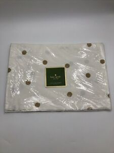Kate Spade New York - Gold Scatter Dot Placemats - Set of 4 - NWT