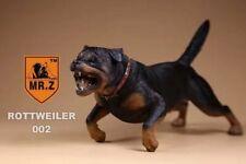 Realistic Rottweiler  Sitting Dog Life Like Figurine Statue Home/Garder NEW AQ10