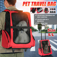 Pet Carrier Backpack Carrying Bag Dog Cat Puppy Outdoor Travel Bags Breathable