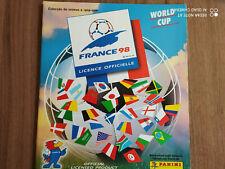 Panini World Cup 1998 France * 98 Empty Album Empty Album VGC Rare Version Portu...