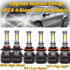 For Honda Accord 2013 2014 2015 2700W Combo LED Headlight Kit High Low+Fog Bulbs
