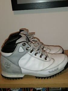 Men's Timberland Boots White Size 8