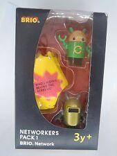 BRIO NETWORKERS PACK 1 ( TRENINO IN LEGNO ) ANNI 3+ (S/L-17)