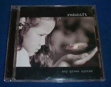 Any Given System Redshift~RARE 2005 Private Space Rock Grunge CD~FAST SHIPPING!