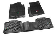 Floor Liner Mat Kit Black for Chevy GMC Full Size Pickup SUV 1999-2006 82989.02