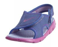 Nike Sunray Adjust 4 Sandals Girls Summer Shoes Pink Purple Uk Size 1.5 New !
