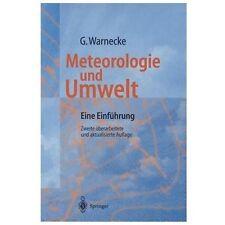Meteorologie und Umwelt : Eine Einführung by Günter Warnecke (1997, Paperback)