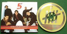 Five When the Lights Go Out Enhanced CD Single
