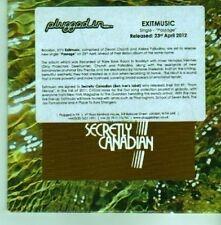 (CX741) Exitmusic, Passage - 2012 DJ CD