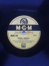 """MGM 10"""" 78 RPM La Maja De Goya / Scherzo Concerto Philip Green Orchestra"""