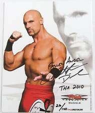 TNA CHRIS DANIELS P-2 HAND SIGNED AUTOGRAPHED PROMO PHOTO LMTD EDT WITH PROOF