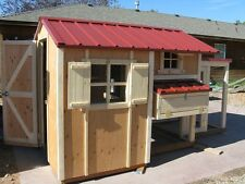 Chicken coop plan & material list, The Cottage Coop, with storage, emailed only