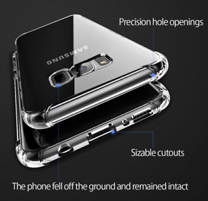 Shockproof Armour Protect TPU Back Gel Case Protector For Samsung Galaxy S8