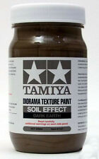 Tamiya Diorama Texture Paint - Soil Effect, Dark Earth 8.45 oz. (250ml)  87121