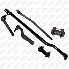 Steering Kit Track Bar Tie Rods Sleeve For 4WD Ford F-350 Super Duty 99-04