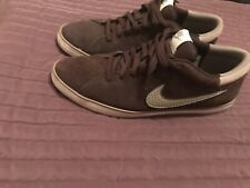 Men's Nike MATCH LOW SUEDE Brown Size 9