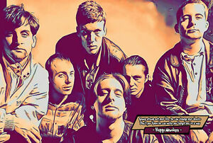 Happy Mondays Comic Icons Art Print (Available In 4 Formats)
