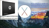 NEW 240GB SSD for Mac Pro 1,1 2,1 2006-2007. El Capitan 10.11.6 With SSD Adapter