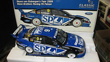 CLASSIC 1/18 S VAN GISBERGEN FORD FG FALCON 2009 SBR SP TOOLS V8 SUPERCAR #18395