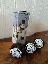 Vintage Dunlop 65 Christmas Golf Ball Box With 3 Unused Balls