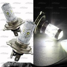 1x Pair Mercedes-Benz Land Rover H4 9003 HB2 30 Watt 6 LED White Projector Bulbs