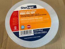 Shurtape 181a P Aluminum Hvac Foil Tape 25 X 60 Yd Flex Air Duct Ductboard