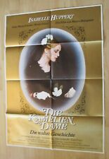 Filmplakat : Die Kameliendame ( Isabelle Huppert , Gian Maria Volonte )