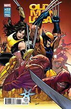 Old Man Logan #22 Marvel Comics 2017 Greg Land 1:10 Variant Cover Comic Book