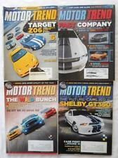 4 Lot Motor Trend Magazine Shelby Super Snake GT-350 Viper Z06 Camaro HPE 650