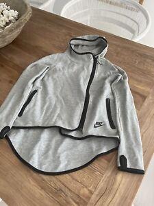 Nike Ladies Grey Zip Activewear Jacket Xs
