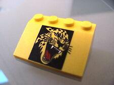 LEGO 3297px5 @@ Slope 33 3 x 4 Roaring Cheetah Head Pattern @@ 4175 4177 5599