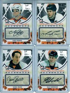 2011-12 ITG Broad Street Boys Autographs #AMC Murray Craven Philadelphia Flyers