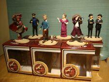 """lot de 6  figurines neuves  """" TINTIN """"  2011 jamais ouverte !!! CARREFOUR MARKET"""
