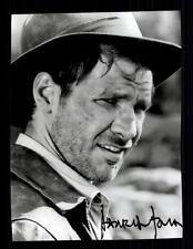Harrison Ford Autogrammkarte TOP ## BC G 14860