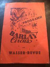 Circus Barlay