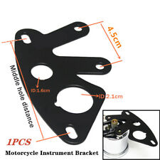 1X Metal Universal Motorcycle Instrument Bracket Speedometer Mount Stand Support