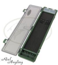Rigida Rig Portafoglio Storage System Box & SPILLE per capelli Rigs pesca della carpa NGT Tackle