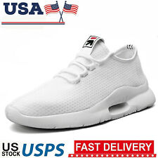 Men's Running Breathable Tennis Shoes Sports Casual Walking Athletic Sneakers