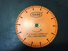"""SASE Vacuum Brazed Saw Blade for Concrete Joints 7"""" x .090"""