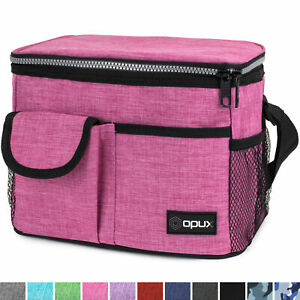 Insulated Lunch Bag Adult Lunch Box for Work School Men Women Kids Leakproof
