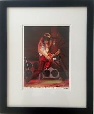 Slash 1st gig with Guns N' Roses fine art photo 1985  B.C. Rich signed 16/100