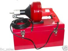 H D Portable Electric Snake Drain Plumbing Cleaner Auger Unclog Wire Drainer Set