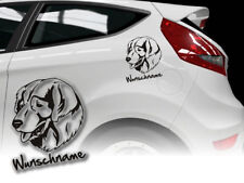 Sticker Sarplaninac Yugoslav Shepherd Dog h374 Desire Name Car