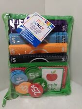 Felt Play Money & Coins w/ Zip Case Storage Pouch and Flash Cards (Free Ship)