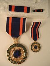 Rare Dept. of Transportation extraordinary meritorious service medal, ribbon bar