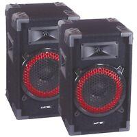 LTC STAR8 DJ Speaker Pair Sound System STAR-8 Disco Karaoke PA