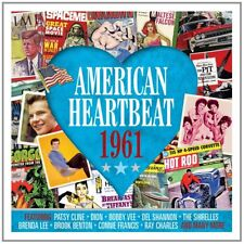 American Heartbeat 1961 - 50 Original Recordings 2CD NEW/SEALED